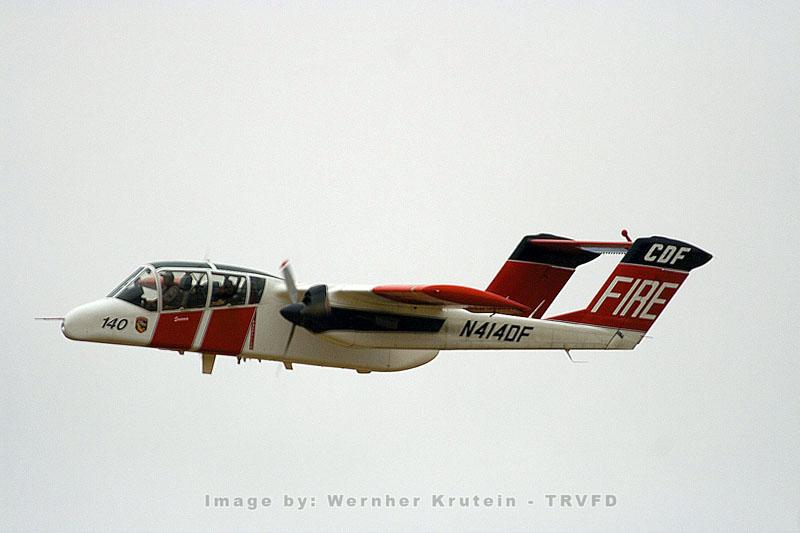 N414DF, OV-10A Bronco, Observation Platform