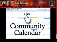 Two Rock Fire Calendar